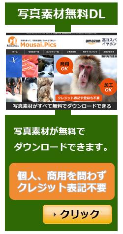 Mousai.Pics(ムーサイ ドット ピクス)は、高品質の写真・画像素材を無料(フリー)でダウンロードできるサイトです。